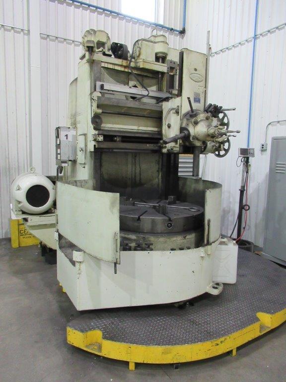 Acme Bertram 2 Axis Dro Manual Vertical Turning Center