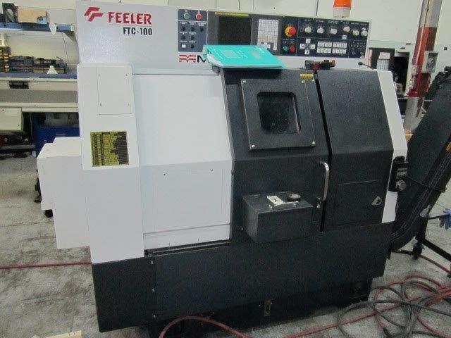 Feeler FTC-100 Turning Center Lathe