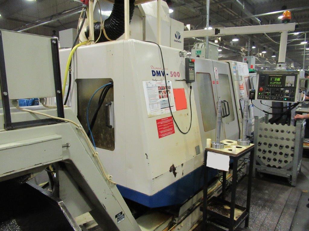 Daewoo DMV-500 Vertical Machining Center