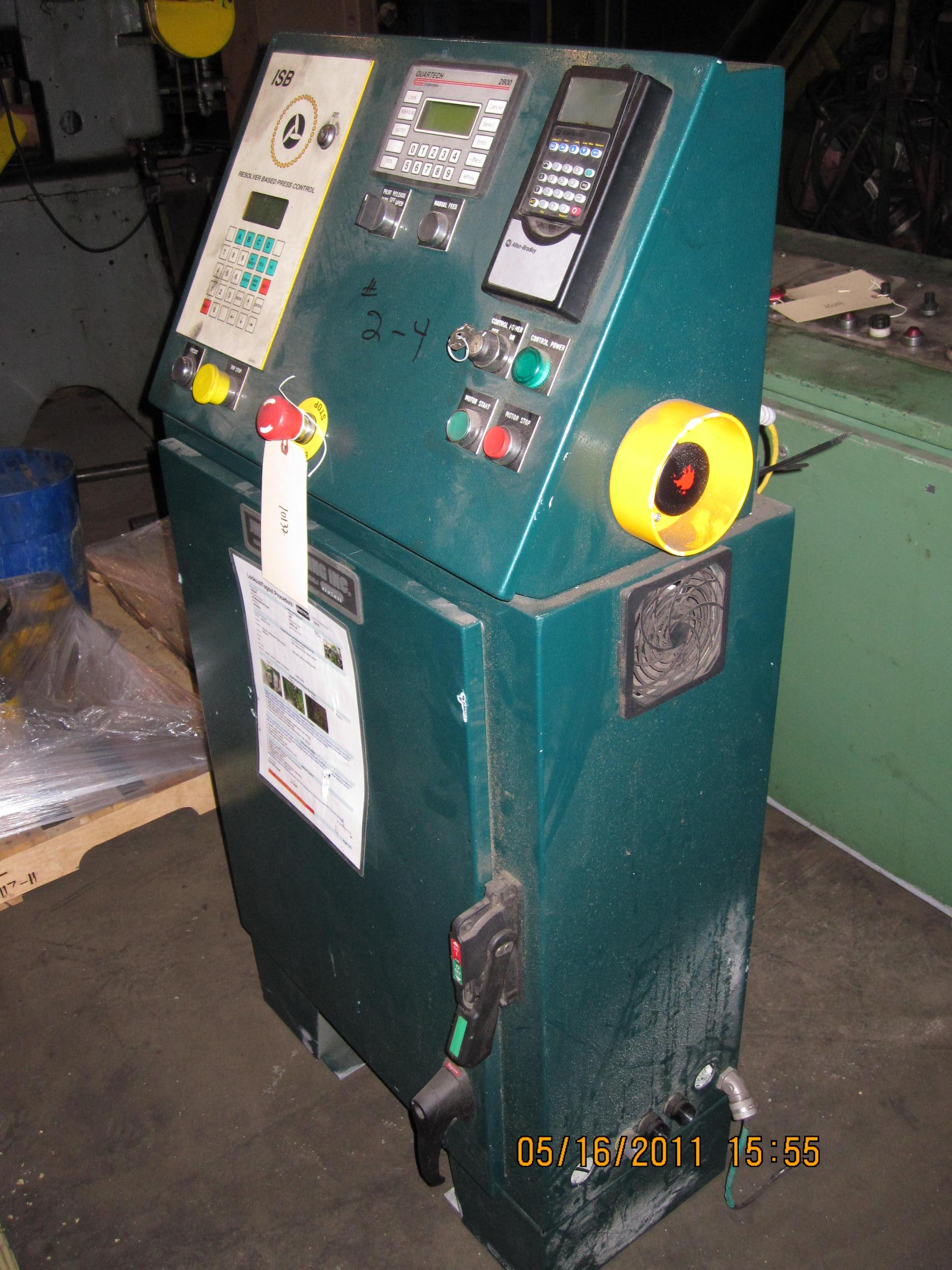 One Used Bruderer Model BSTA-30 3 Post High Speed Press