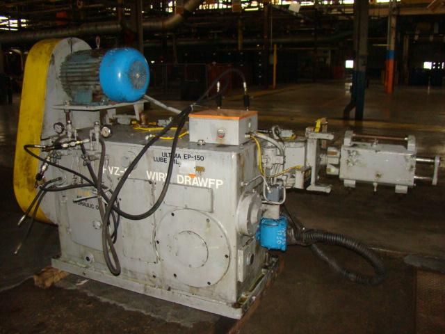 Schuler-P&E HVZ-3 In Line Wire Drawer