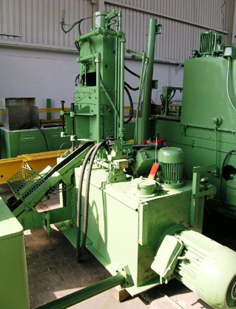 Ficep Hydraulic Hot Billet Shear Model CTCH 80