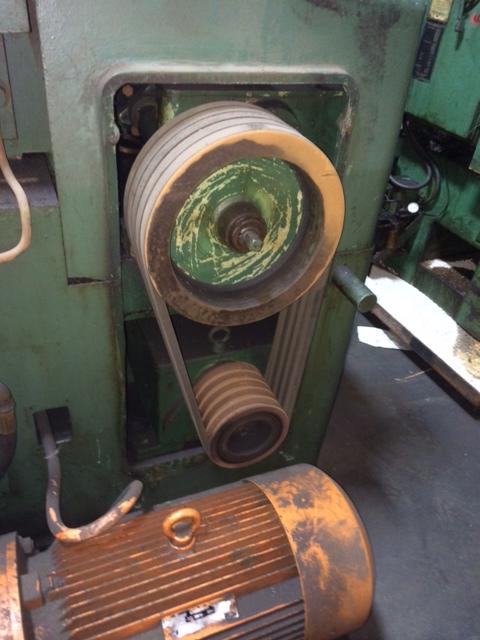 """4"""" Tsugami Model TROL-25 2 Die Cylindrical Thread Roller"""