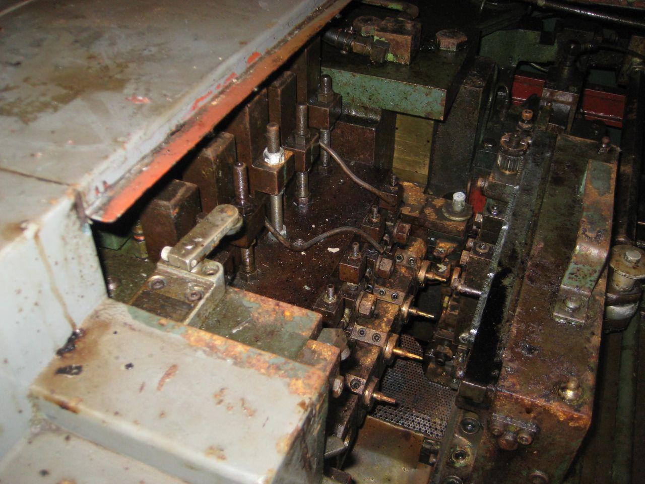"""1/4"""" Waterbury Farrel Model 256 Five Die Nut Former"""