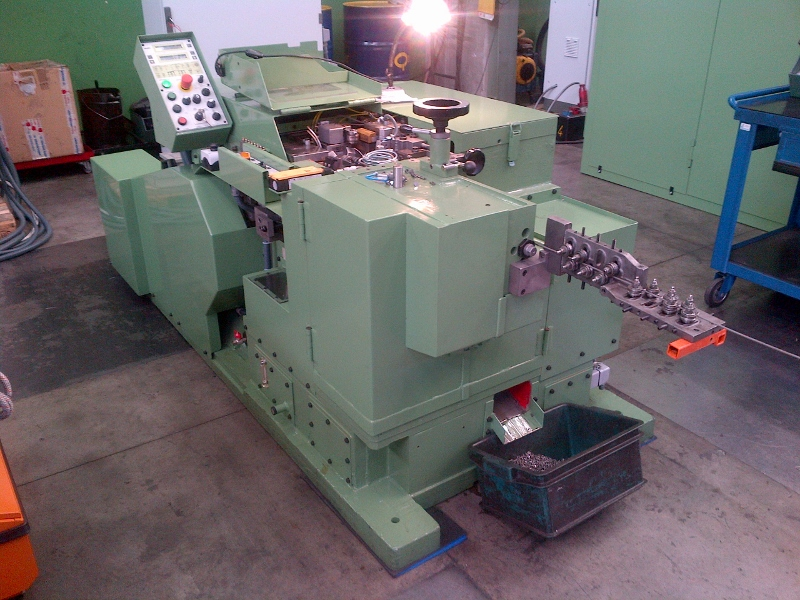 Carlo Salvi Model RF/476/SV Semi Tubular Rivet Machine