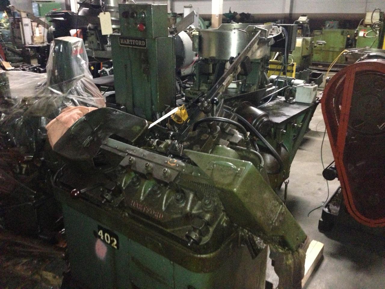 """3/16"""" Hartford Model 0-400 High Speed Thread Roller"""
