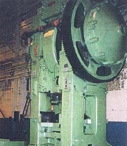 1600 Ton Eumuco Model SP160 C Forging Press