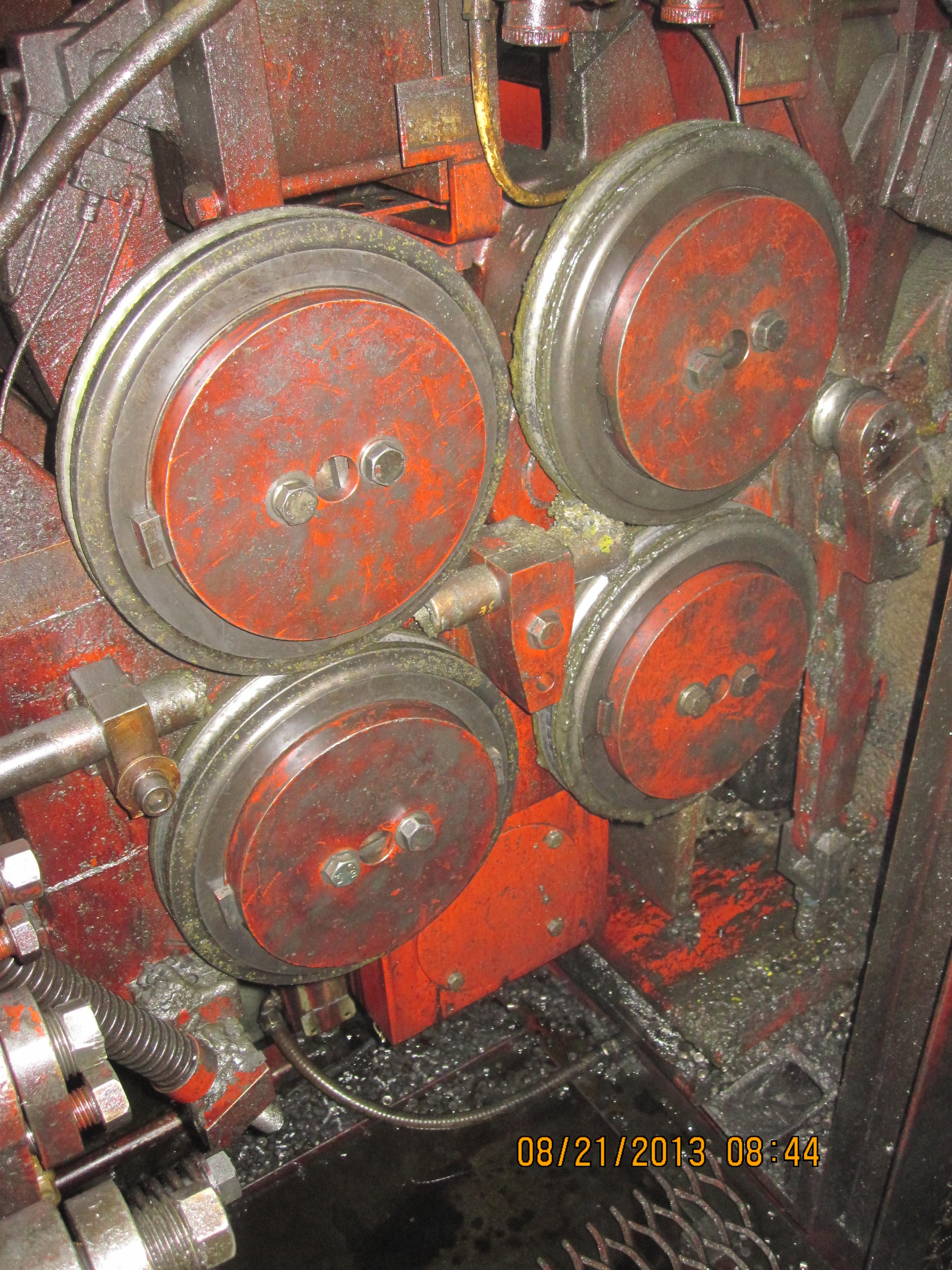 National Model 164 4 Die High Speed Nut Former