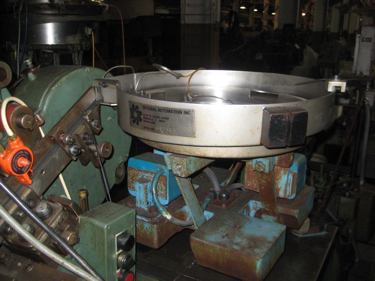 "5/32"" Waterbury Farrel Model #0 Inclined Heavy Frame Thread Roller"