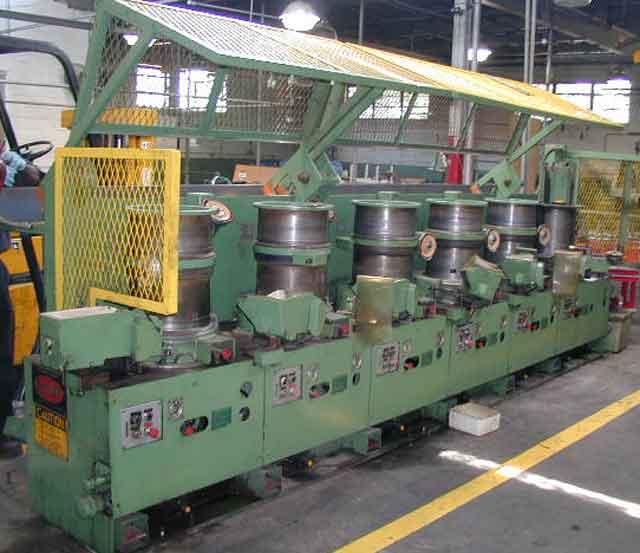 """.187""""-.025"""" Fenn Model BB-14 Wire Drawing Machine"""