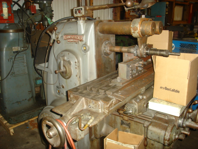 Kearney and Trecker Horizontal Milling Machine