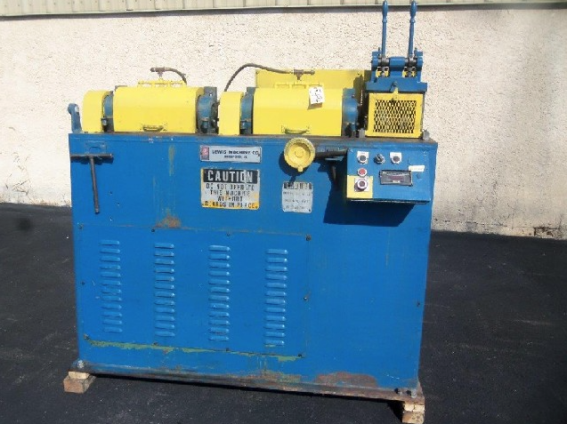 Lewis 2SV 32SV-DA Wire Striaghten and Cut Machine