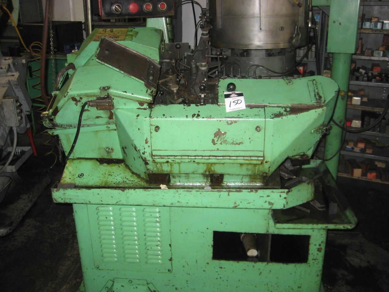 Warren Model WT-1000 High Speed Flat Die Thread Roller