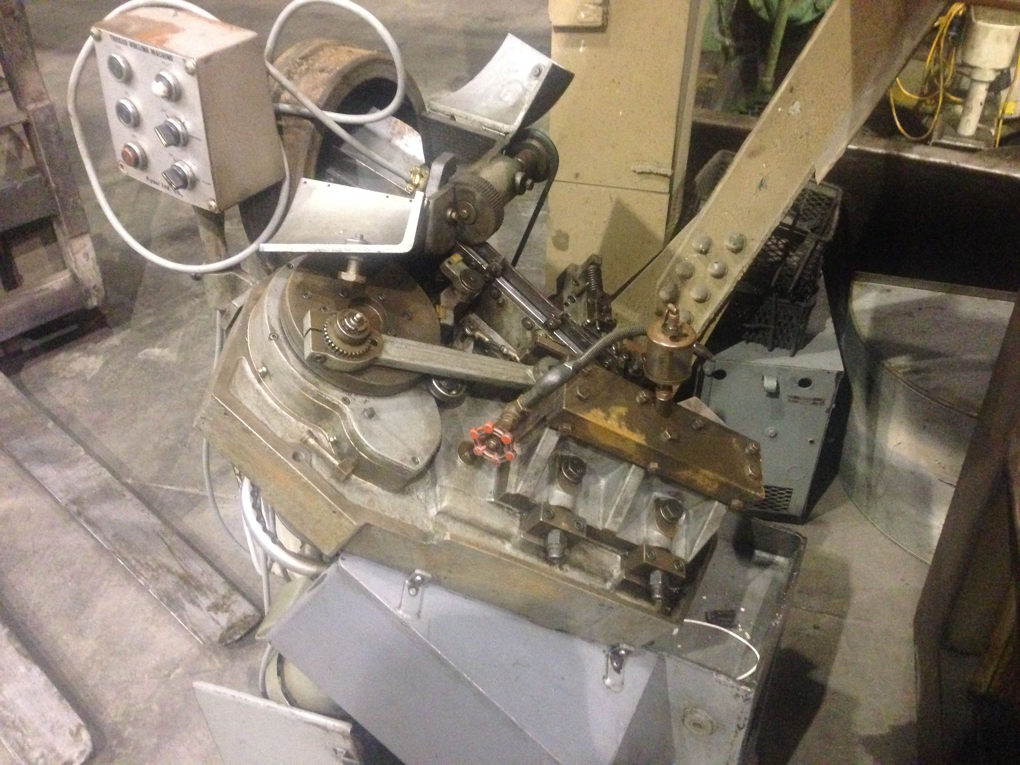 """One Used 1/8"""" Kyoei Model SR-0 High Speed Micro Thread Rolling Machine"""