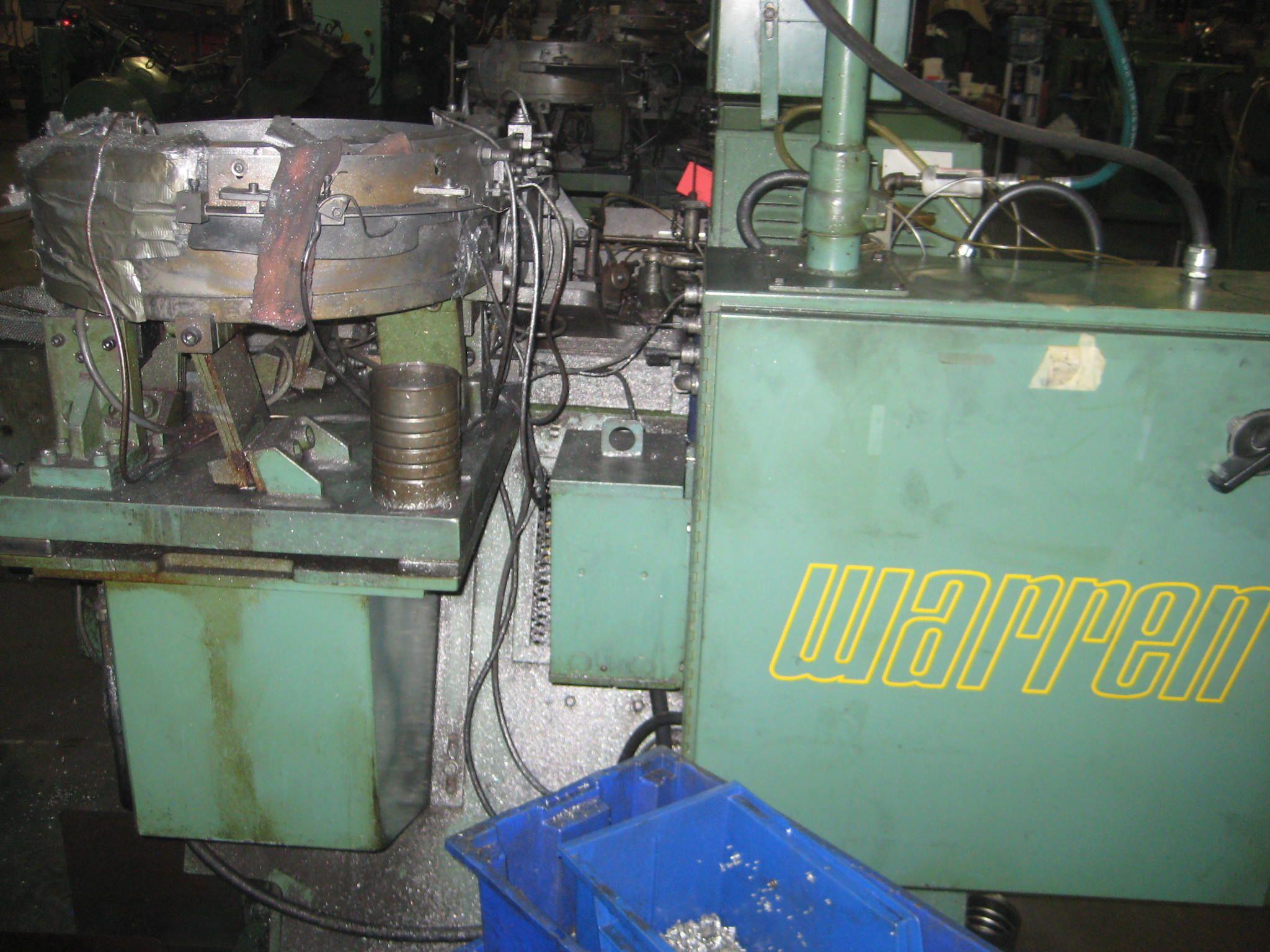 "1/4"" Warren Model WT-1500 High Speed Flat Die Thread Roller"