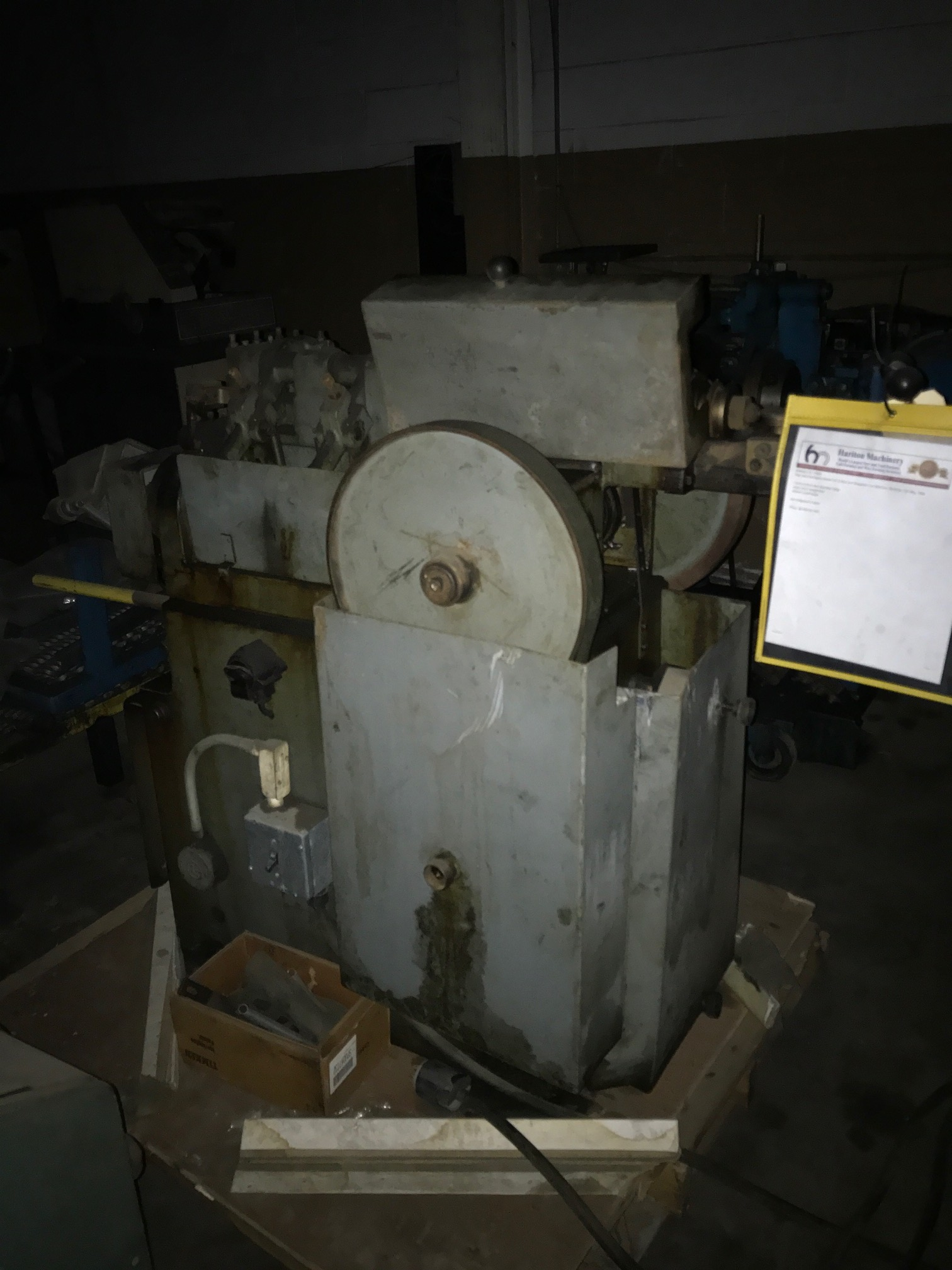 Bundgens Straighten and Cut Machine