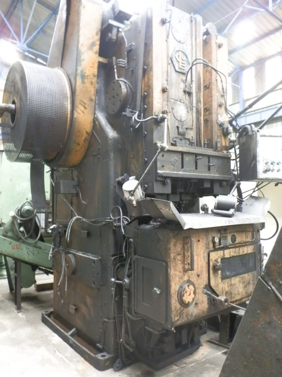 Peltzer and Ehlers Polymaster Model PM160 Transfer Forge Press