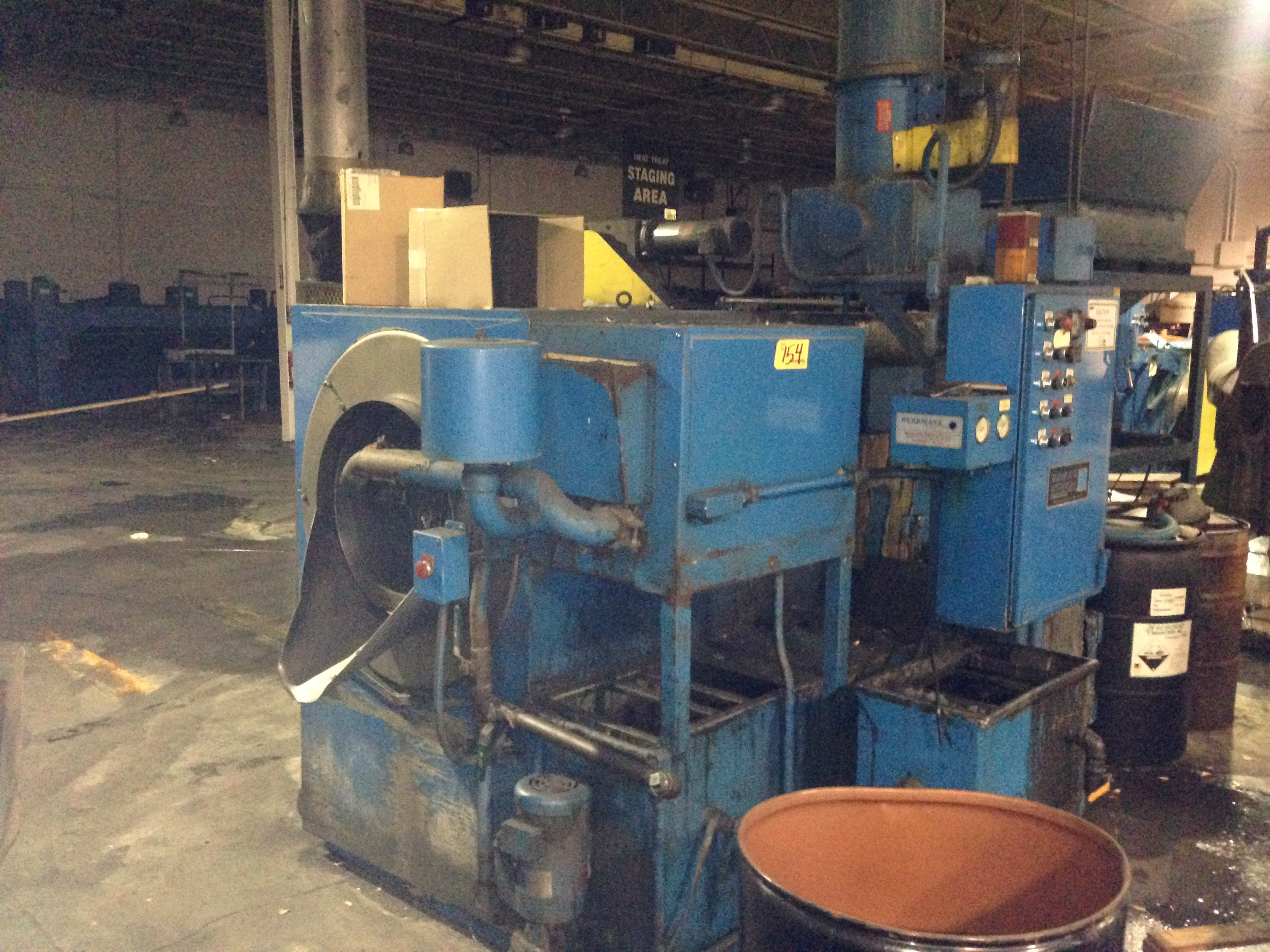 One Used Hurricane Parts Washer, Made by Midbrook