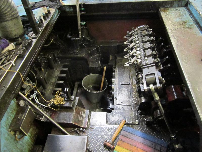 """Sakai Model SNBM-530 """"PartsMaster"""" 6 Station Cold Former"""