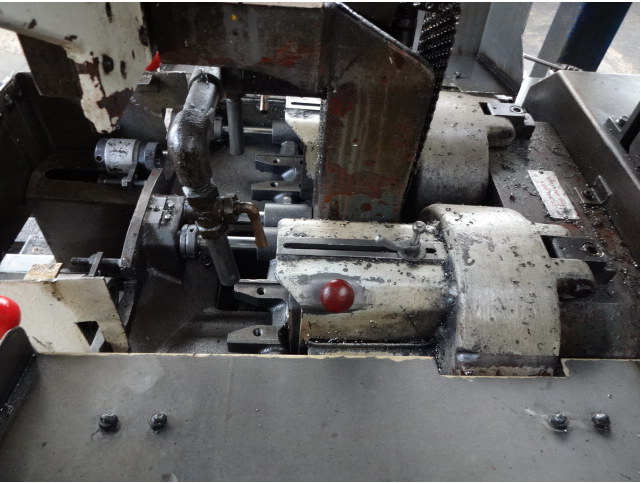 Shimazu Model Super 3-F Twin Spindle Nut Tapper