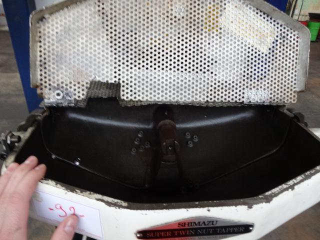 Shimazu Model Super 3-F Twin Spindle Nut Tapper