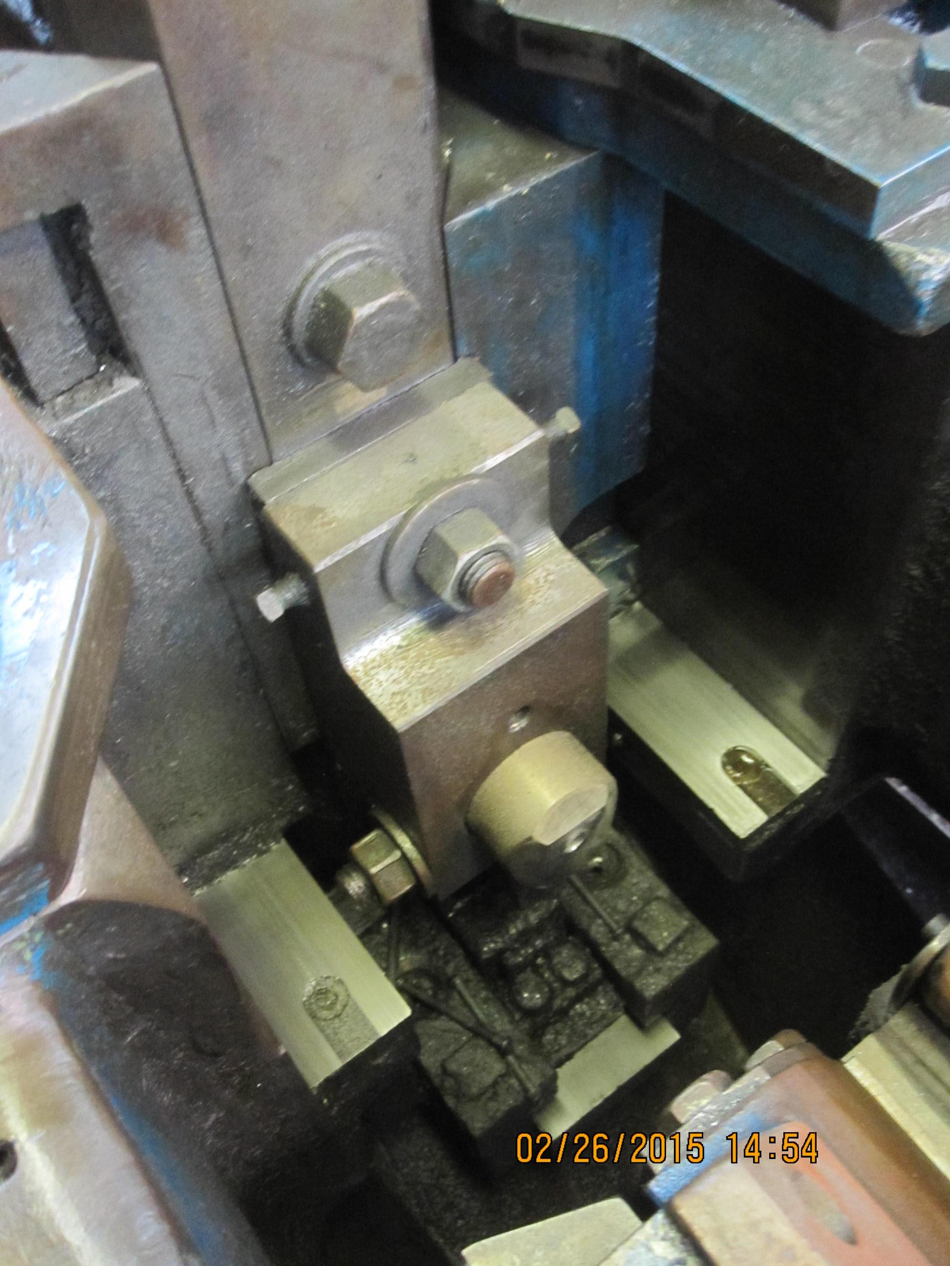 """5/16"""" Waterbury Farrel Model #11 Single Stroke Open Die Hand Feed Re-Header"""