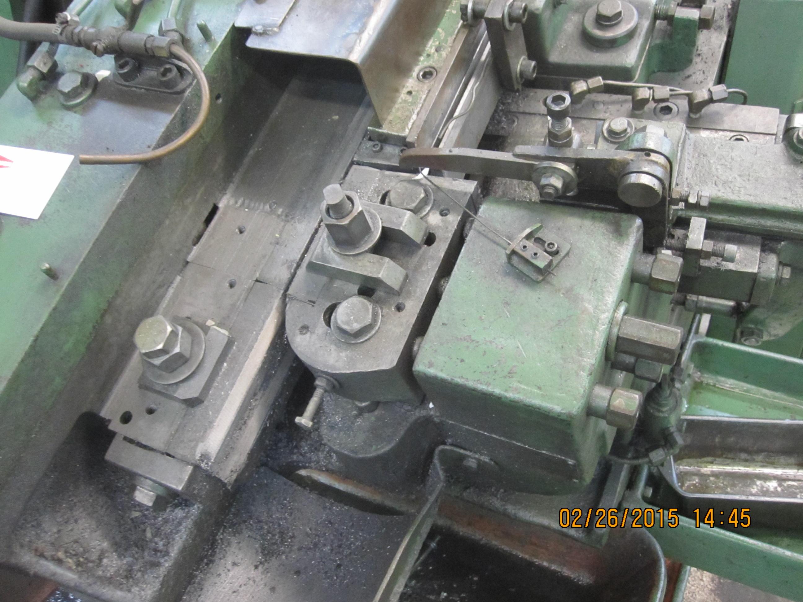 "1/4"" Waterbury Farrel Model #10 Incline Automatic Thread Roller"