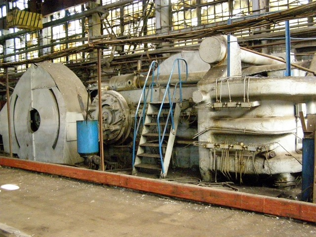 "10"" Kramatorsk Model B1145 3150 Ton Upsetter Machine"