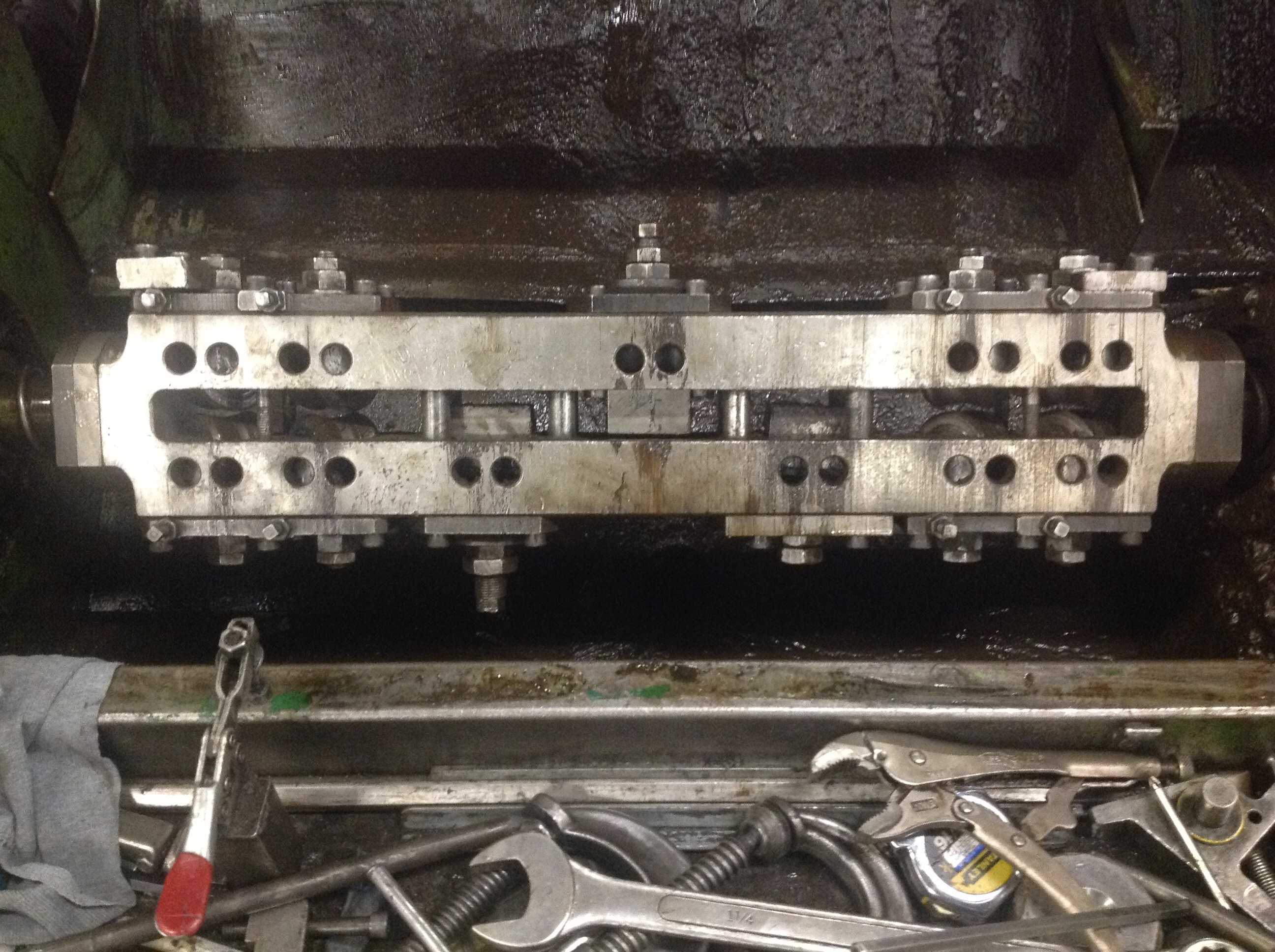 """1/2"""" Videx Model VC-20-MH Wire Straighten and Cutoff Machine"""
