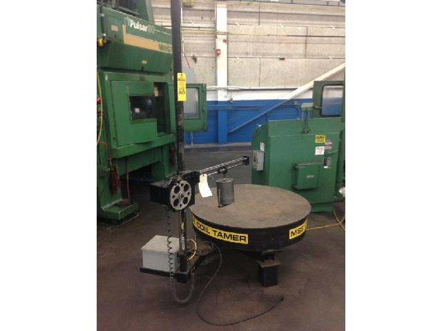 MSE Coil Tamer Model CT 3542 Powered Pay Off