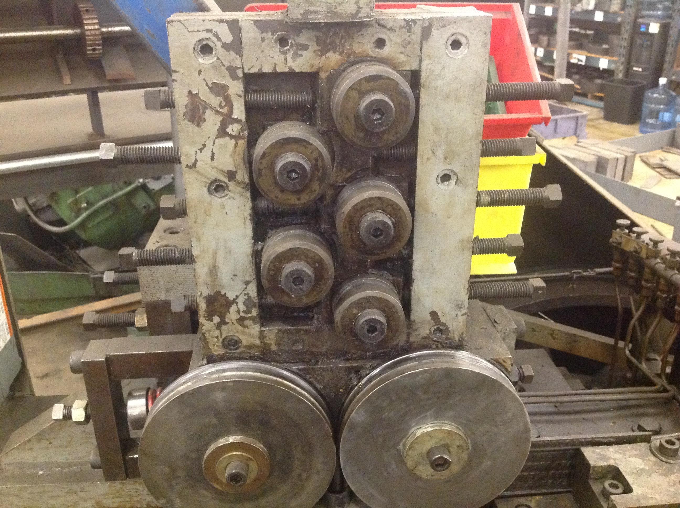 """3/8"""" Waterbury Farrel Model #20 Heavy Frame Hand Feed Flat Die Thread Roller"""