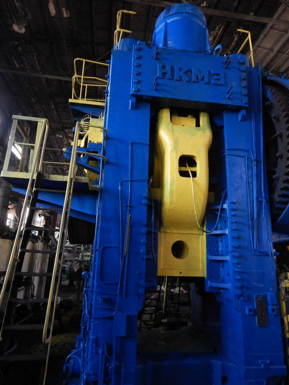 Kramatorsk 4000 Ton Hot Forging Press