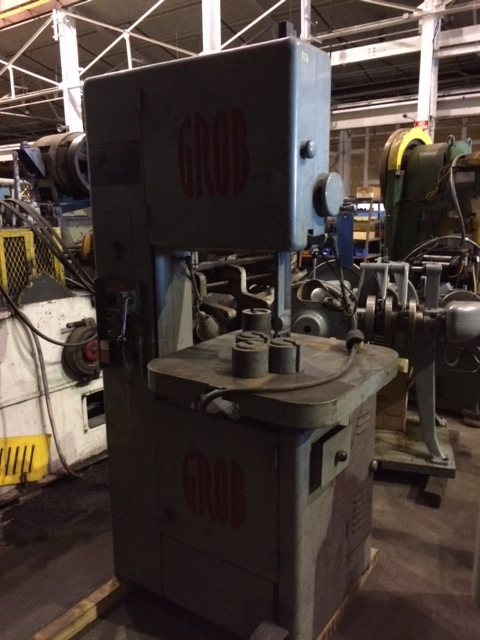 GROB Vertical Band Saw Model NS18