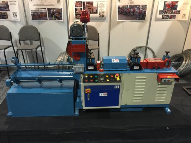 Hariton Model WSC-102B Automatic Wire Straightening and Cutting Machine
