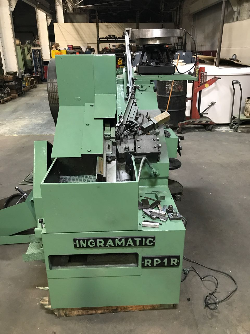 Ingramatic RP1R Thread Roller