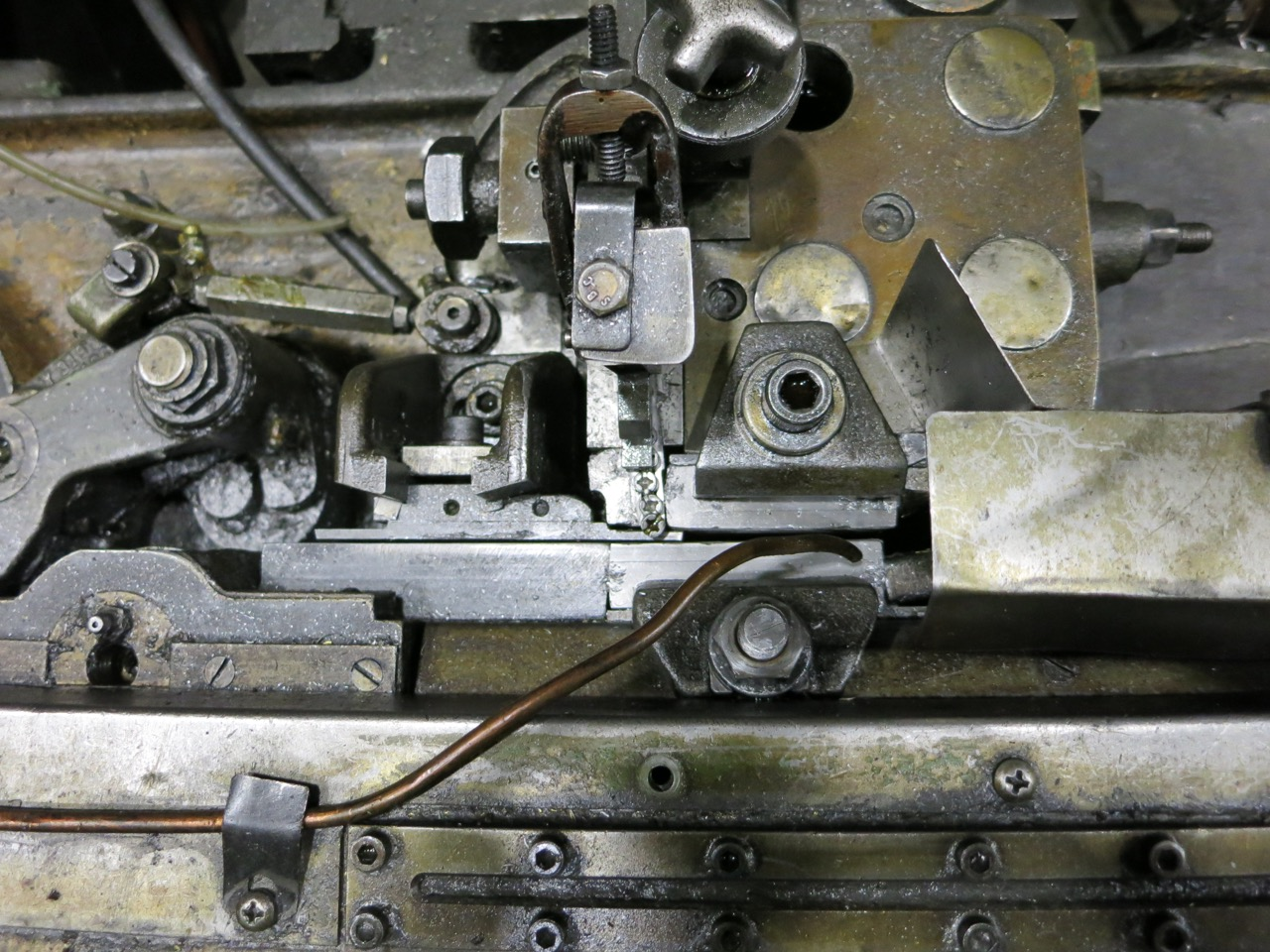 Hartford Model 0-400 high Speed Flat Die Thread Roller