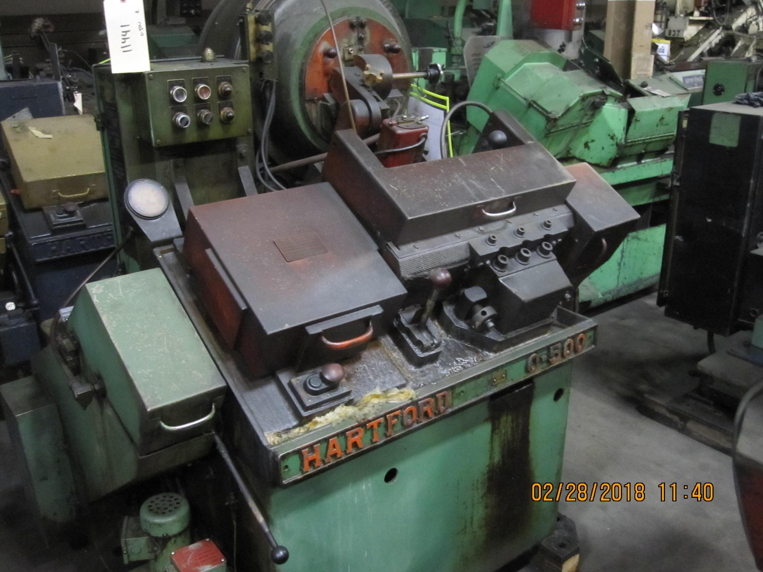 Hartford Model 0-500 High Speed Flat Die Thread Roller