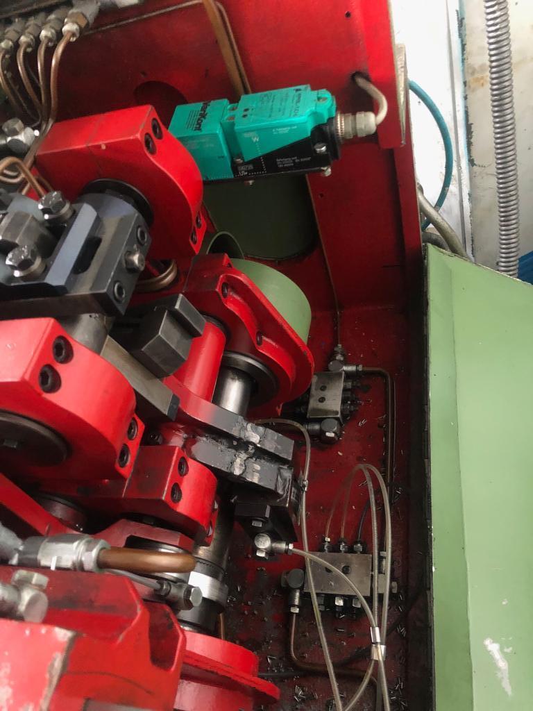 "1/8"" Carlo Salvi Model RF/SV High Speed DSSD Semi Tubular Rivet Header"