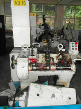 "5/16"" Hilgeland Model PN2 Automaitc Screw Point Forming Machine"