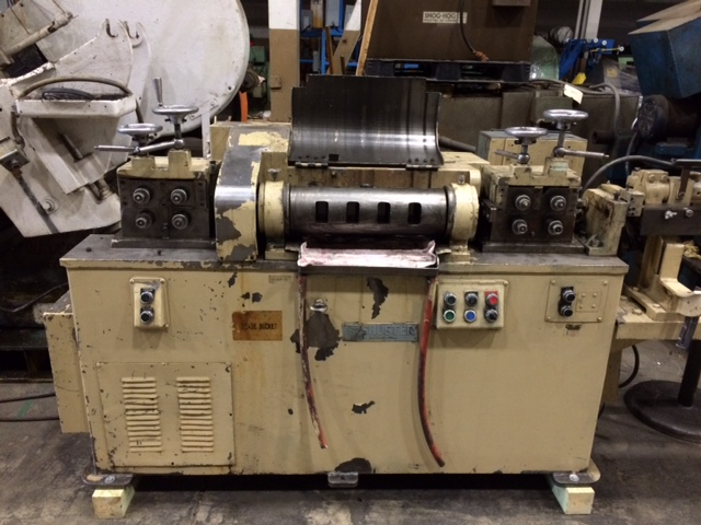 "3/8"" Shuster 2ABV Straighten and Cut Machine"