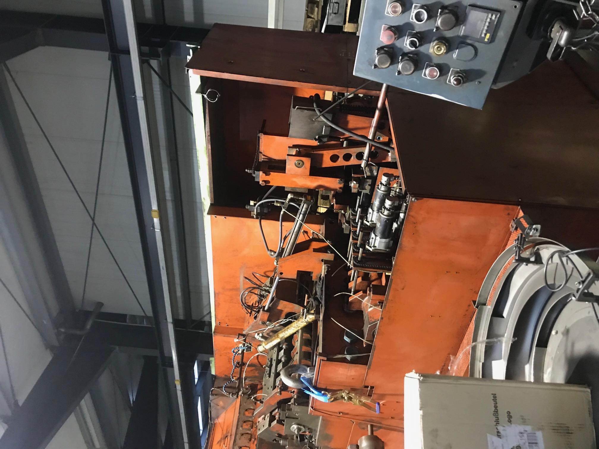 National Model FX55M FORMAX 5 Die High Speed Parts Former