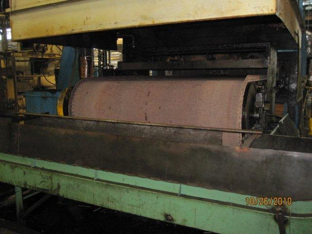 Atmosphere Furnace Company Mesh Belt, Gas Fired, Continuous Heat Treat Line