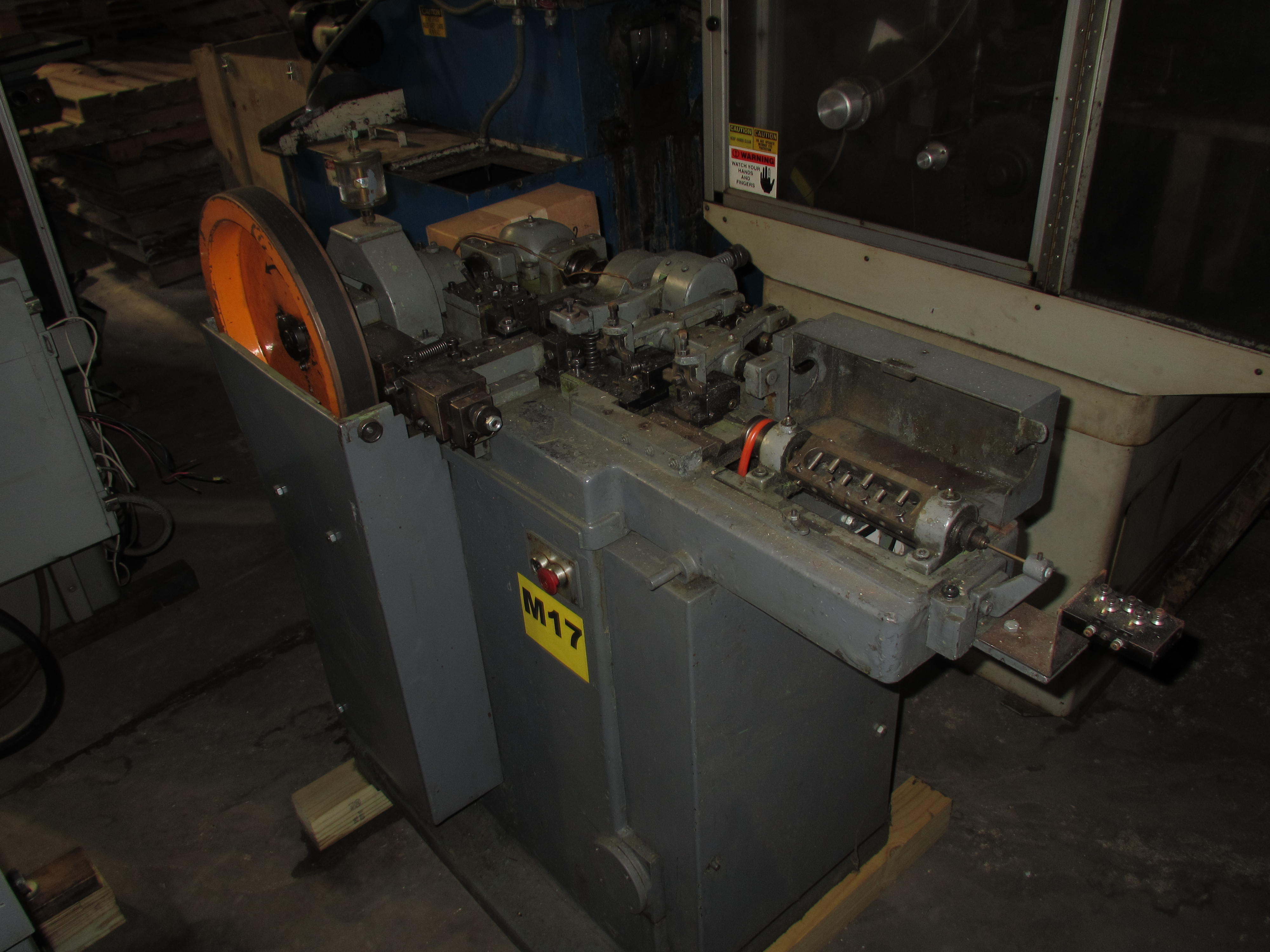 One Used Bundgens Model USS Pin Making Machine