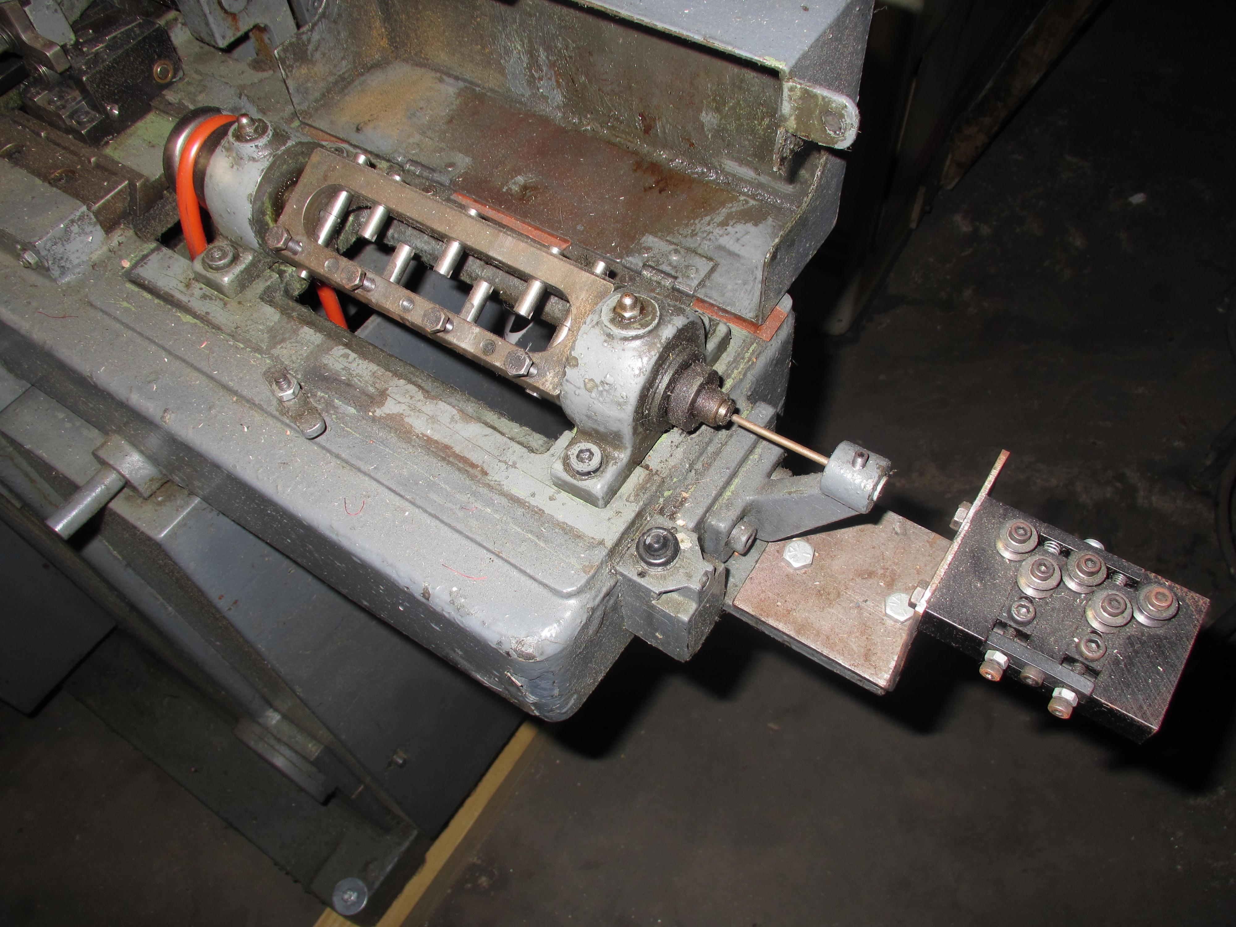 One Used Bundgens Model USS Pin Making Machine