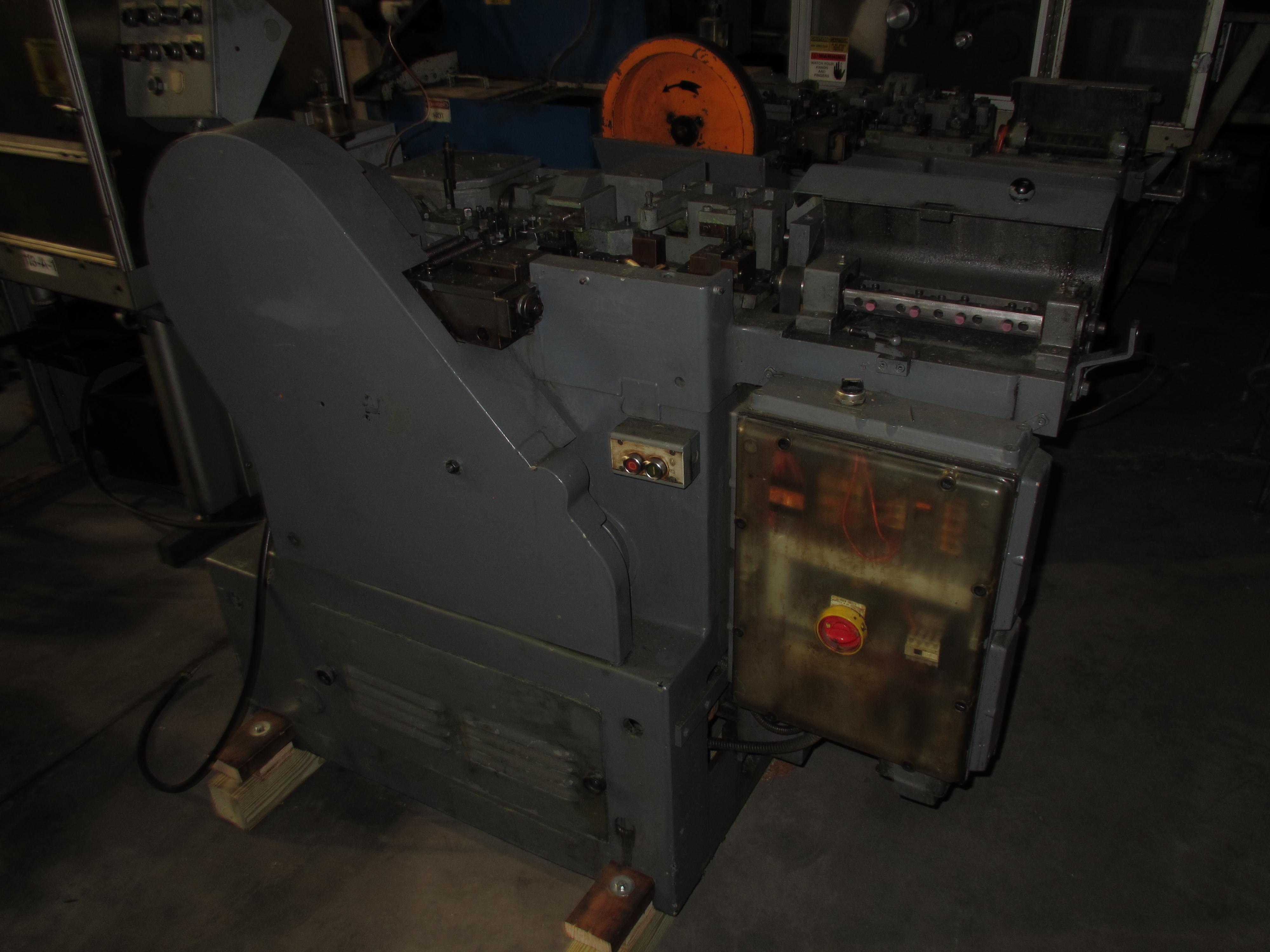 One Used Bundgens Model ST Pin Making Machine