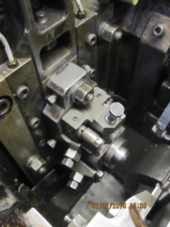 Nakashimada Model PF-420 2 Die 3 Blow Cold Header