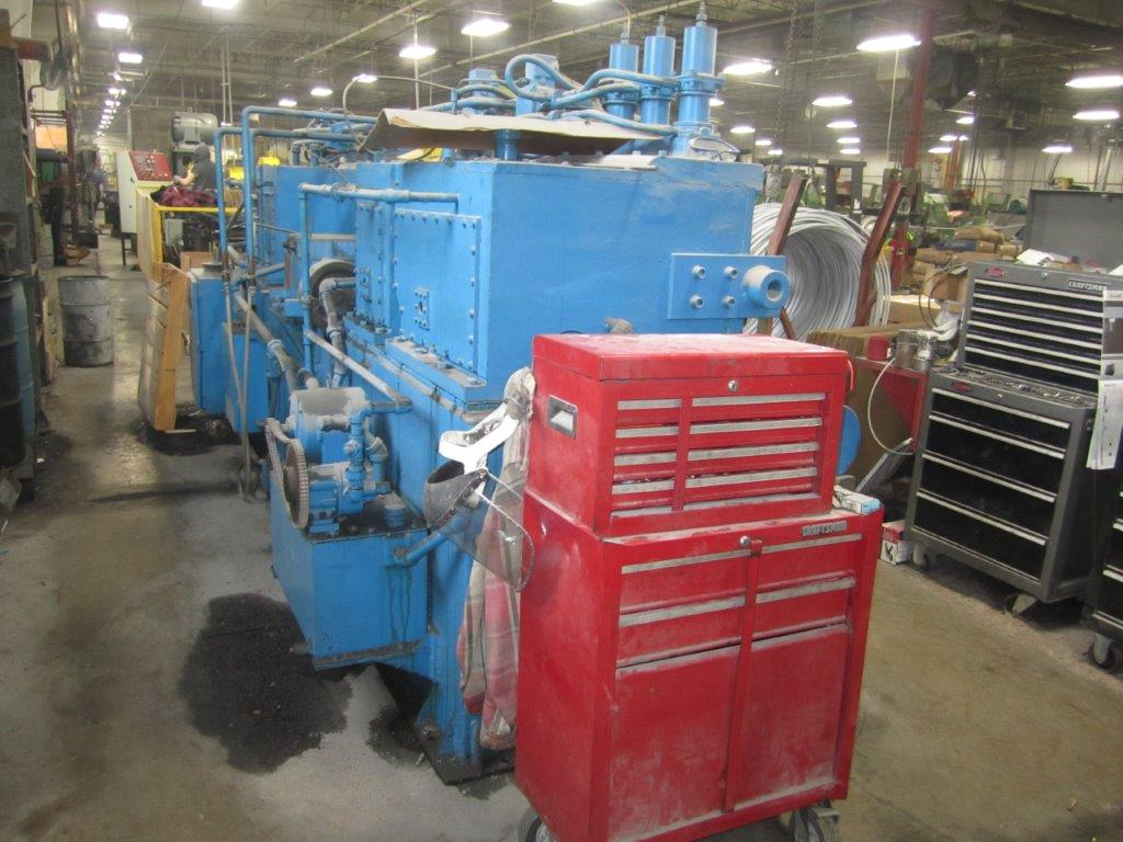 """1"""" Patterson Model 11-A Wire Straightening and Cutting Machine"""