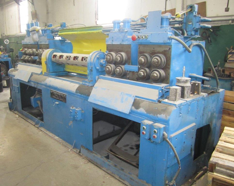"1"" Patterson Model 11-A Wire Straightening and Cutting Machine"