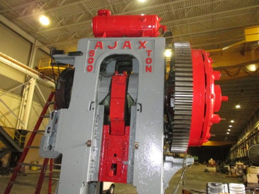 500 Ton Ajax Forging Press Machine