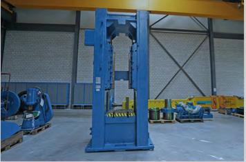 One TMP 630 Ton Mechanical Press Machine, Year 2008